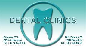 DENTAL CLINICS ANTWERPEN | Tel 03 239 88 88 ANVERS