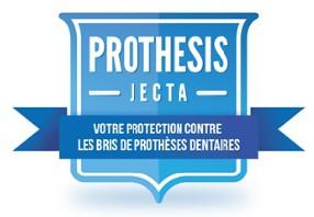 logo PROTHESIS laboratoire dentaire de Jette - réparation immédiate |  Tel 02 425 13 47
